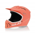 Casco XLC Full Face Interceptor Color Albaricoque Mate