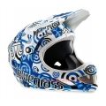 Casco Integral Bluegrass Brave Target Blue