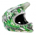 Casco Integral Bluegrass Brave Target Green