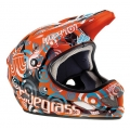 Casco Integral Bluegrass Brave Target Orange 2012