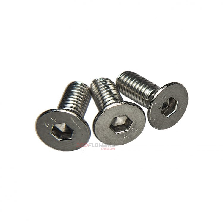 Tornillos m6x16mm acero inoxidable bpart component pack 3 for Tornillos acero inoxidable