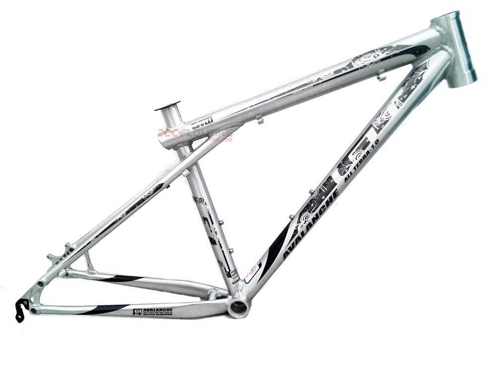 GT Avalanche All Terra 1.0 Lady Disc Silver Frame (Size S)