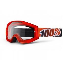 Máscara 100% Strata Red Fire Rojo