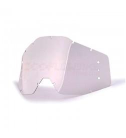 Lente 100% anti-fog transparente para Roll-Off para Racecraft, Accuri y Strata