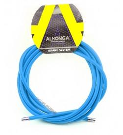 Funda Freno Cable Acero Laminado Azul 2m