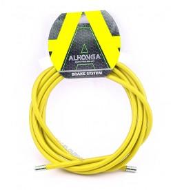 Funda Freno Cable Acero Laminado Amarillo 2m
