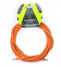 Funda Freno Cable Acero Laminado Naranja 2m