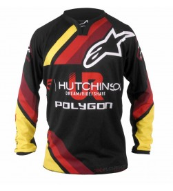 Camiseta Equipación DH Hutchinson Polygon Alpinestars Replica Team UR