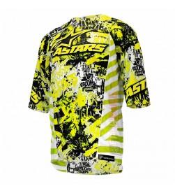 Camiseta Alpinestars Gravity Amarillo Fluorescente Negro