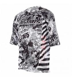 Camiseta Alpinestars Gravity Gris Negro