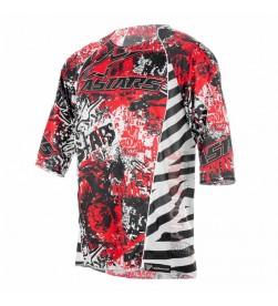 Camiseta Alpinestars Gravity Rojo Blanco Negro