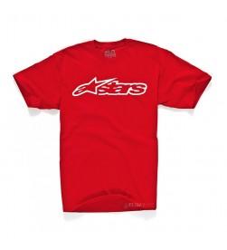 Camiseta Manga Corta Alpinestars Blaze Rojo