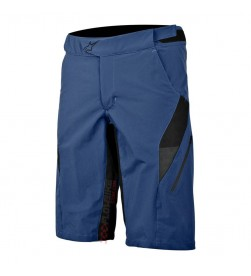 Pantalon Corto Alpinestars Hyperlight Azul Cool Grey