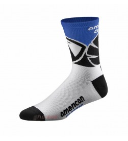 Calcetines American Classic Blanco Azul