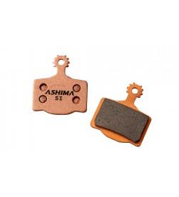 "Pastillas Freno Ashima Organicas para ""Magura MT2/MT4/MT6/MT8"""