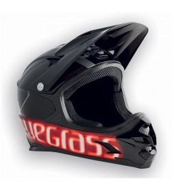 Casco Integral Bluegrass Intox Negro-Rojo