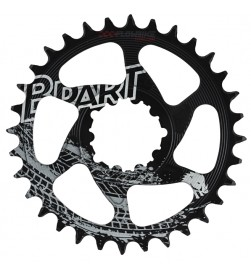 Plato Bpart Components Direct Mount SRAM 12v Narrow Wide BOOST Negro RADICAL -3mm Offset (Diferentes dentados)