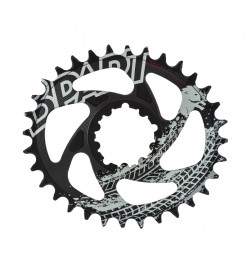 Plato Ovalado Bpart Components Direct Mount SRAM 12v Narrow Wide BOOST Negro Radical -3mm Offset (Diferentes dentados)