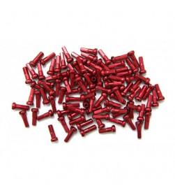 Cabecillas de Radio CN Spoke Pack 38 Unidades Rojo