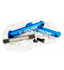 Bielas COLONY BMX Colores 175mm