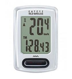 Cuentakilómetros Cateye Velo VT230 Inalámbrico Blanco