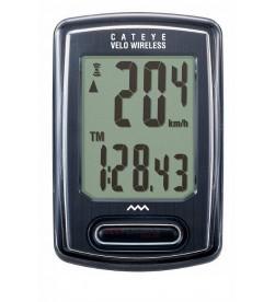 Cuentakilómetros Cateye Velo VT230 Inalámbrico Negro