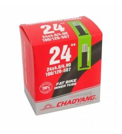 Cámara Chaoyang Fat bike 24x4.0/4.9 AV