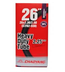 Cámara Chaoyang Heavy Duty Tube 26x2.30/2.50 2.25mm FV