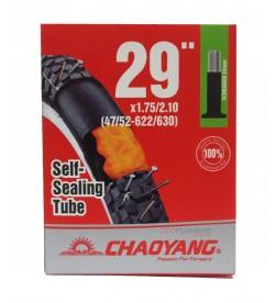 Cámara Chaoyang con Liquido Antipinchazos 29x1.75/2.10 AV