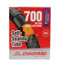 Cámara Chaoyang con Liquido Antipinchazos 700x18/23 FV 80mm