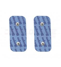 Pack 2 Electrodos 5x10cm Compex Dual Snap