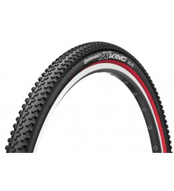 Neumático Continental X-King Race Sport 26x2.40 Plegable Negro/Rojo