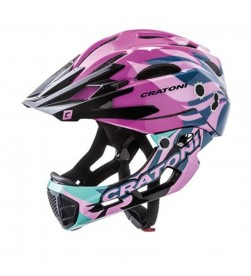 Casco Desmontable CRATONI C-Maniac Rosa brillante