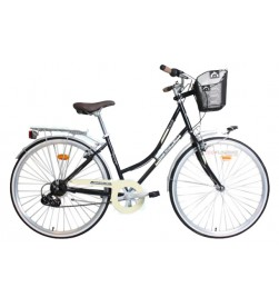 "Bicicleta Paseo WST Vera Negro 700"""