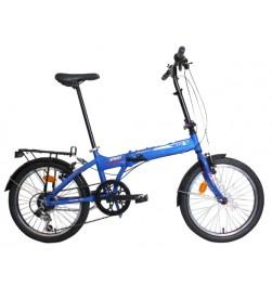 "Bicicleta Plegable WST Sprint 20"" Azul"