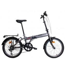 "Bicicleta Plegable WST Sprint 20"" Gris"
