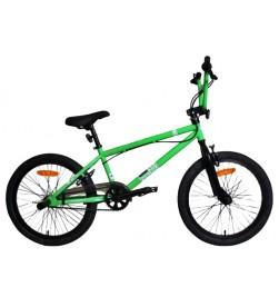 Bicicleta WST BMX Freestyle Unica Verde
