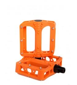 Pedales Plataforma El Gallo Eco Fiber Naranja