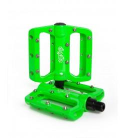 Pedales Plataforma El Gallo Components Eco2 Verde
