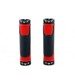 Puños  El Gallo Components Comfort Negro/Rojo