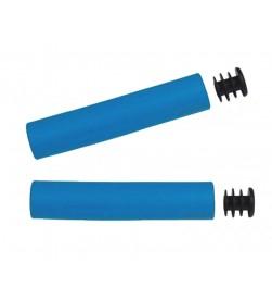 Puños  El Gallo Components Silicona Azul Neon