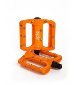 Pedales Plataforma El Gallo Components Eco2 Naranja