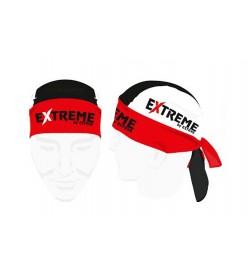 Pañuelo pirata bandana Extreme Dry Clyme Roja/Negra