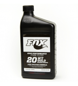 Aceite Fox Suspension Fluid 20wt Gold 0.95lts