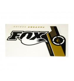 Kit Pegatinas Adhesivos Horquilla Fox 36, 2014, Gold Logo, FACTORY