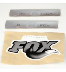 Kit Pegatinas Adhesivos Horquilla Fox Float 36 Blanco 10