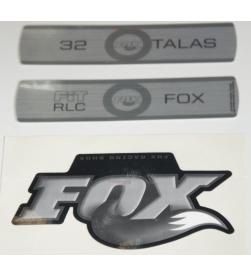 Kit Pegatinas Adhesivos Horquilla Fox 32 Talas Fit RLC 10