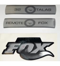 Kit Pegatinas Adhesivos Horquilla Fox 32 Talas Remote 10