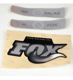 Kit Pegatinas Adhesivos Horquilla Fox 36 Talas 09-10