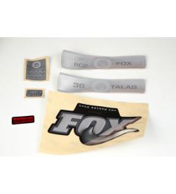 Kit Pegatinas Adhesivos Horquilla Fox 36 Talas Fit RC2 10